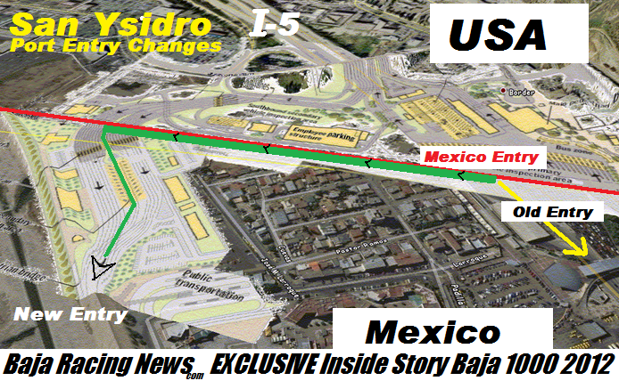 New San Ysidro Border Crossing