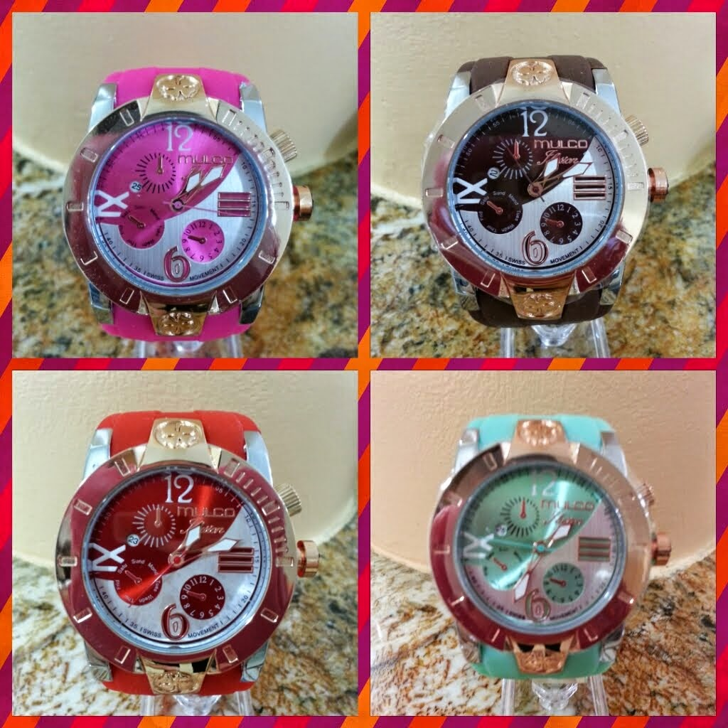 RELOJ MULCO ILUSION disponible verde y marron