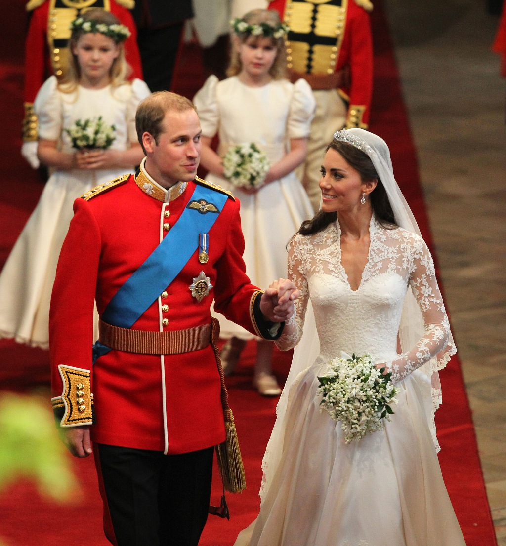 Kate Middleton And Prince William Royal Wedding In London 10 - Prince William Wedding Cake