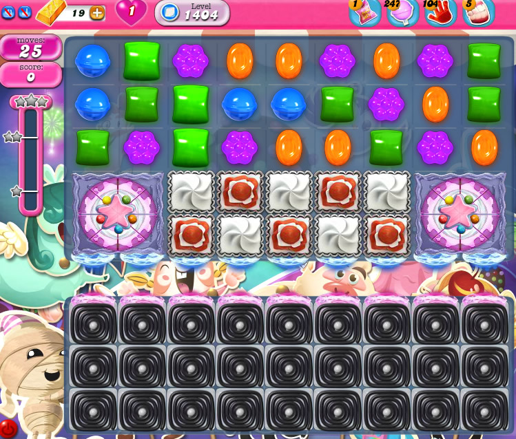 Candy Crush Saga 1404