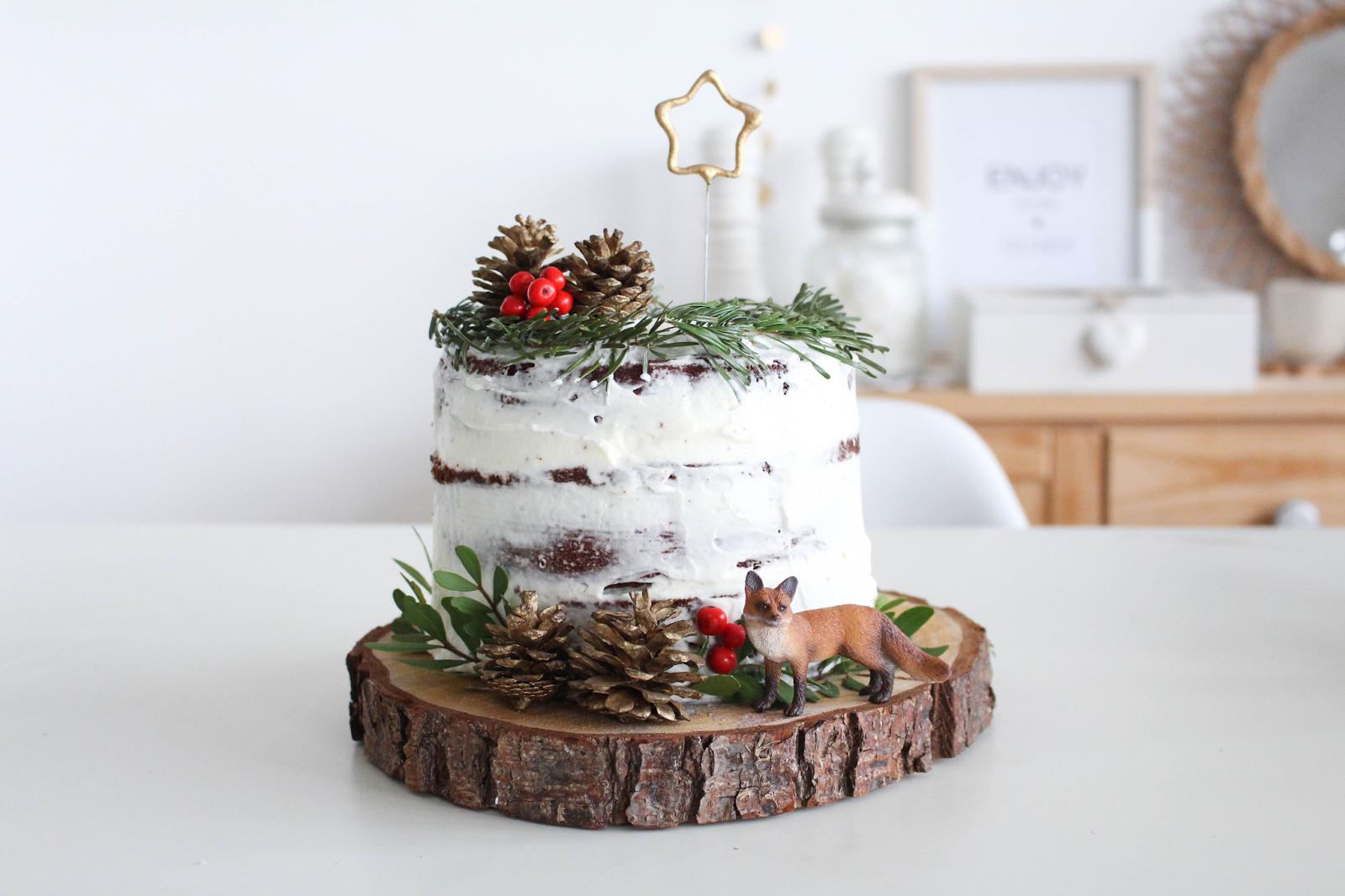 Gâteau Danniversaire Layer Cake Dhiver Lola Etcétéra