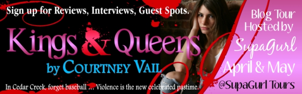 K&Q+banner Kings & Queens by Courtney Vail Book Tour