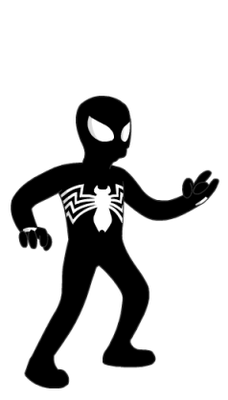Black-Suit_Spiderman_Marvel_Comics_Simpson