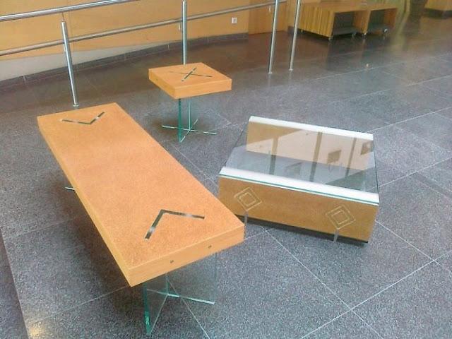 baldai iš kanapių