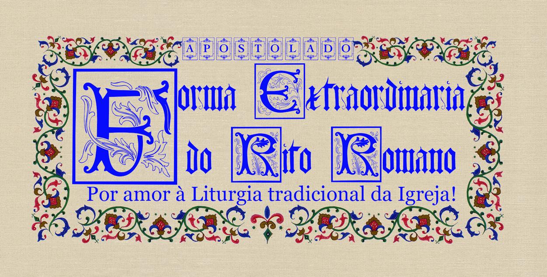 Forma Extraordinária do Rito Romano