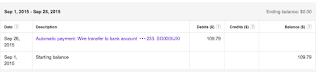 Google Adsense payout, www.lifefoodcoffee.com
