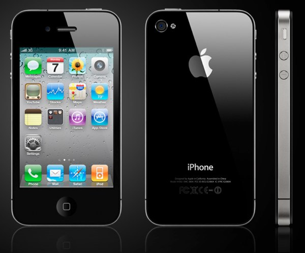 Apple iPhone 4s and BlackBerry Curve 9360