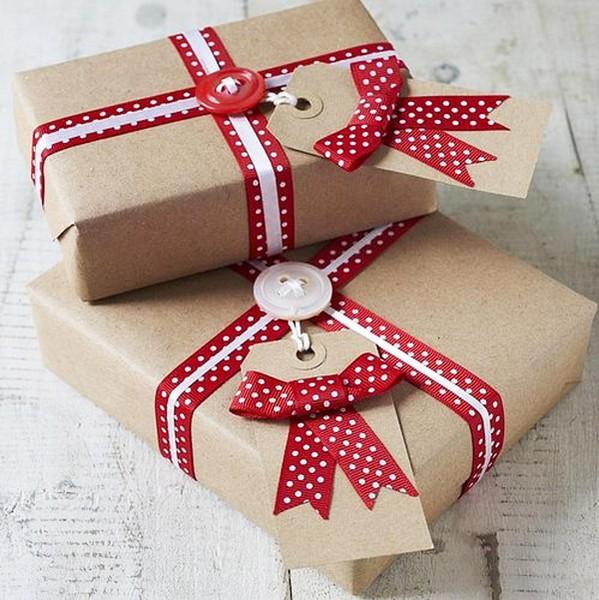 Идея. для упаковки подарок