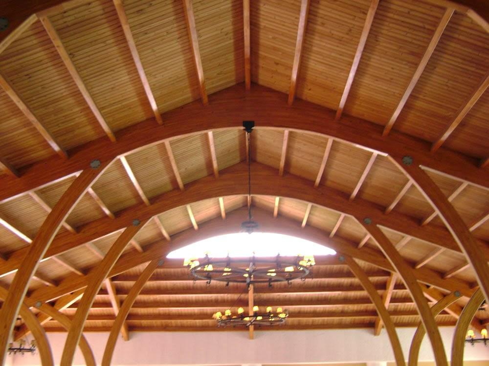 Maderas y estibas cartagena madera como material de - Techo de madera ...