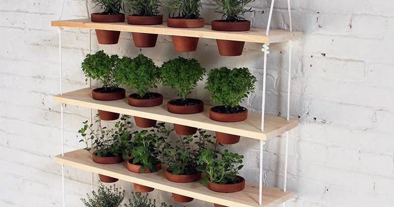 quintal jardim vertical:Fazer Fácil: Jardim ou Quintal Vertical – Vasos para Ervas