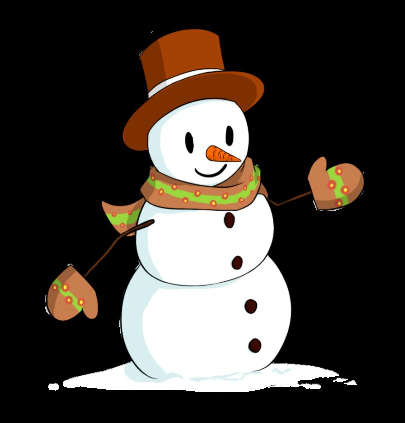 Christmas Snowman Clipart   Clipart Kid