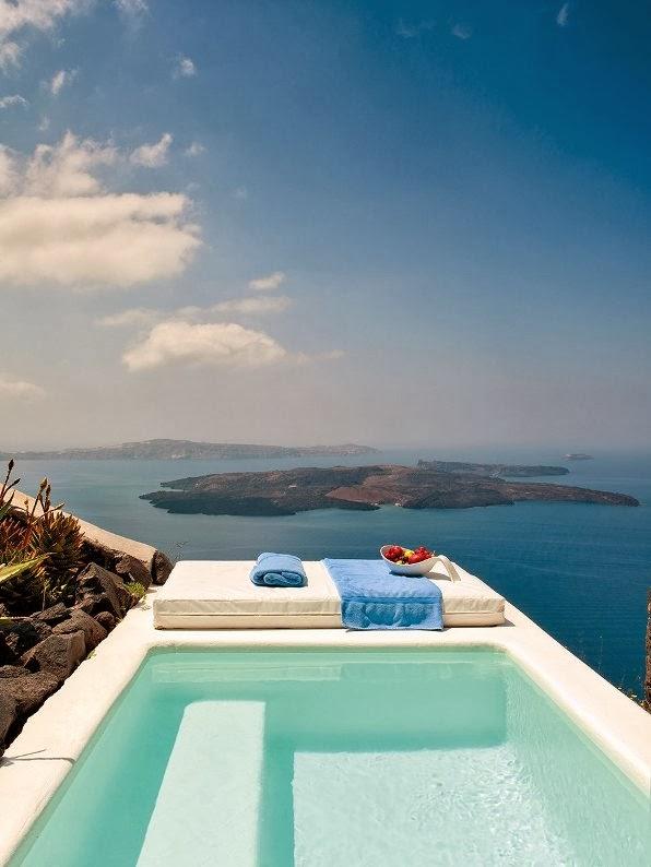 piscinas con vistas