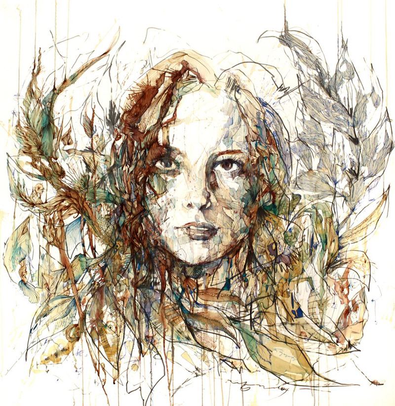 Untilted carne griffiths for Artistic mural works