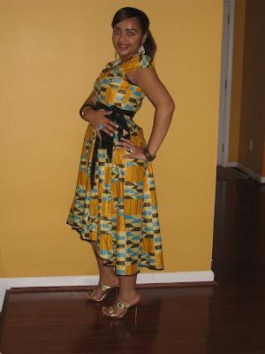 African Kitenge Dress Designs
