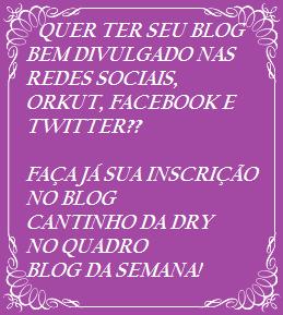Divulgação de Seu Blog
