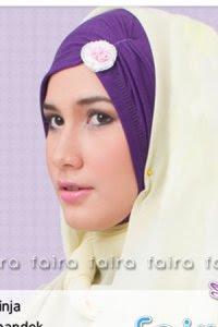 Faira Ciput Ninja NF-4 Ungu (Toko Jilbab dan Busana Muslimah Terbaru)