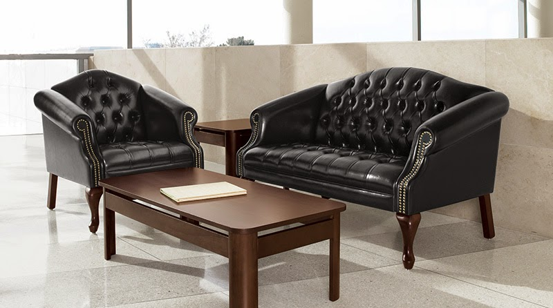 Tufted Leather Furniture