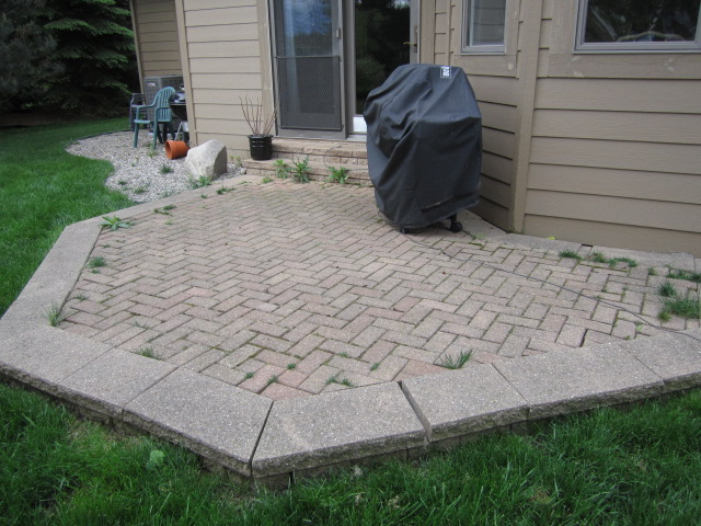 High Quality Brick Paver Patio Is Rebuilt To Restore Original Beauty U0026 Function