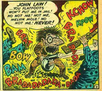 How the Melvins got their band name - Melvin Mole - Mad magazine