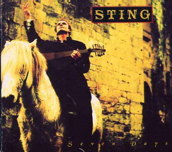 Sting - Seven Days - copertina traduzione testo video download