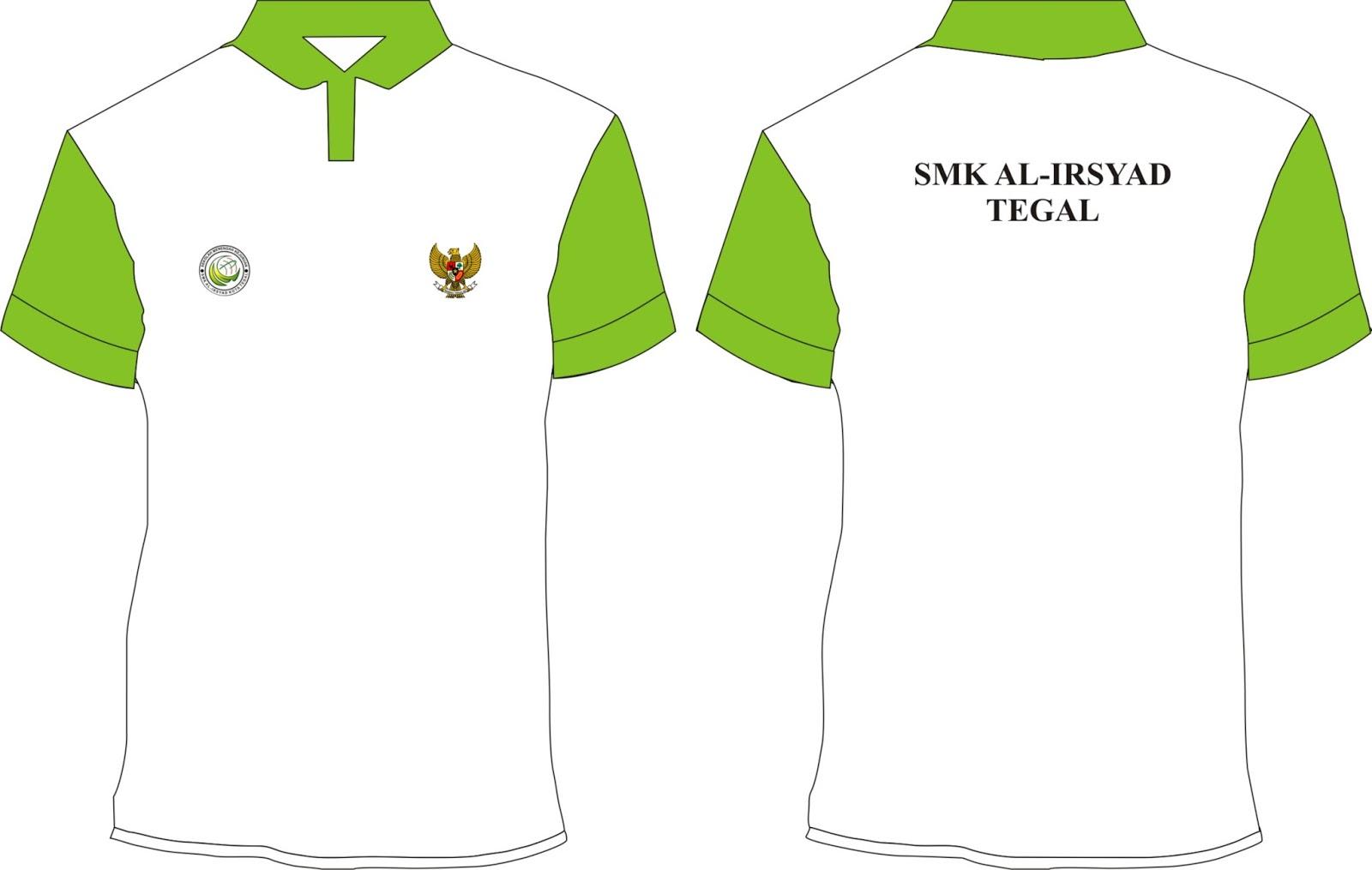 ... Download Contoh Desain Kaos Olahraga Jalan Santai Sekolah CDR Gratis