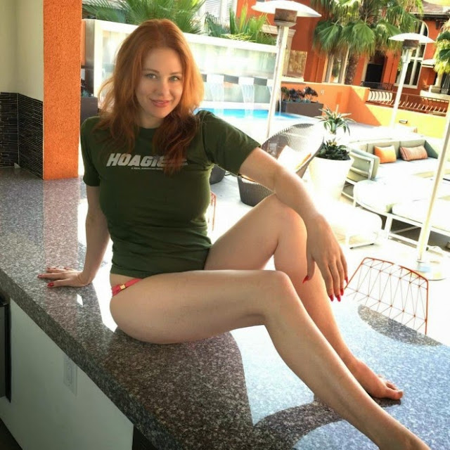 Maitland Ward – Memorial Day Pool Party in LA