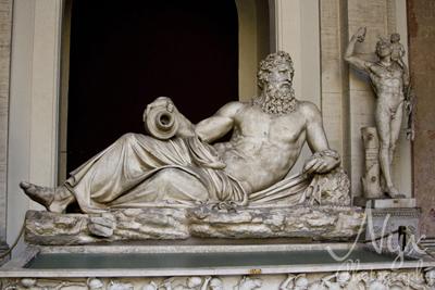 River statue, Vatican City Museum