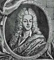 Johan Runius, Stich nach einer Zeichnung von Sophia Elisabet Brenner