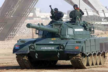 Al-Zarrar Tank Of Pakistan Army