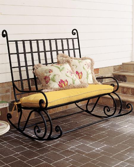 Кресло кровать из металла