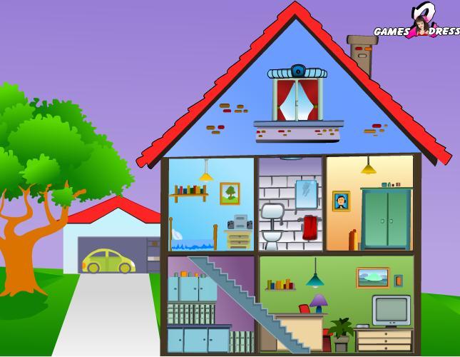 Dibujo de una casa con todas sus partes en ingl s imagui - Casas en ingles ...