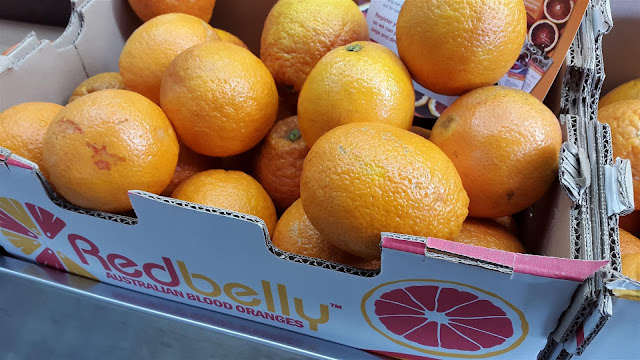 Redbelly brand blood oranges
