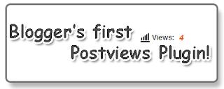 اضافة عداد زوار لكل موضوع للمدونة
