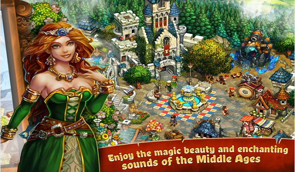 The Tribez & Castlez Mod Apk + Data [Unlimited Coins + Gems]
