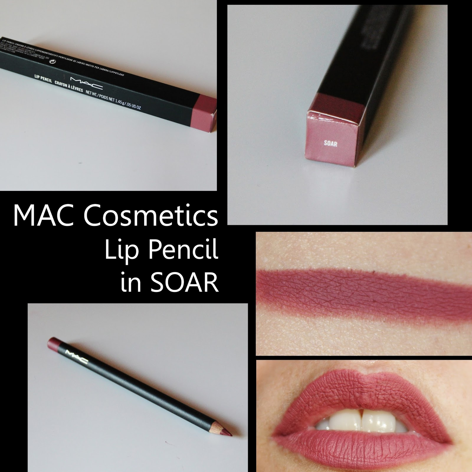 Michelaismyname Mac Cosmetics Lip Pencil In Soar Review