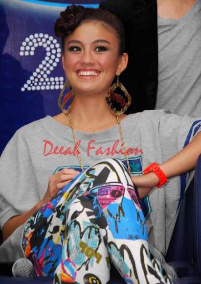 Agnes Monica Ulang Tahun Ke26 (01 July) di Malam Grand Final Indonesian Idol 2012