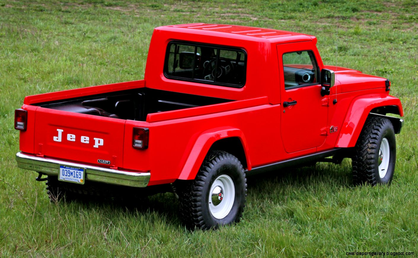 Jeep Pickup Concept Truck