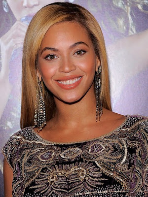 Beyonce Knowles Diamond Chandelier Earrings