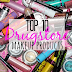 Top 10 Drugstore Makeup Products featuring Maybelline and Revlon