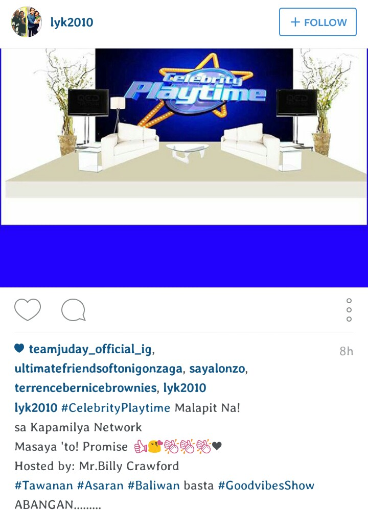 Celebrity Playtime with Billy Crawford Soon on ABS-CBN ...