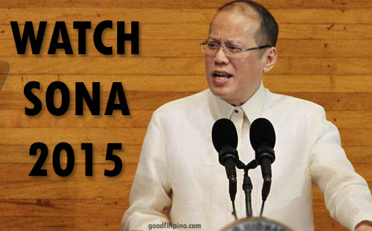 Watch PNoy SONA 2015 Live Streaming Online Video