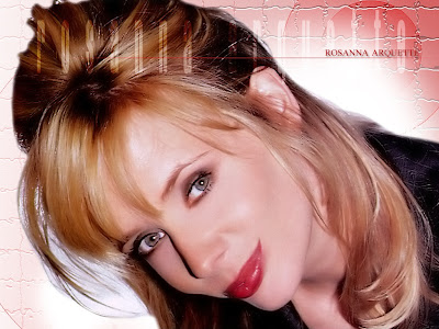 American Actress Rosanna Arquette Wallpaper