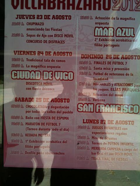 Programa de las Fiestas de la Magdalena 2012