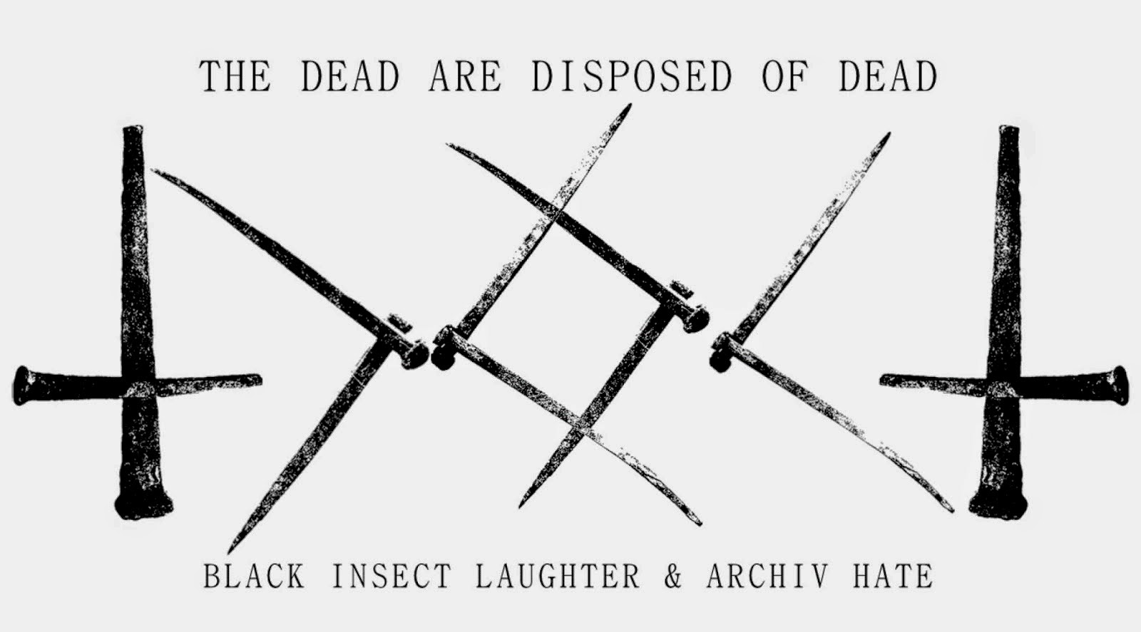 Archiv Hate / Black Insect Laughter shirt