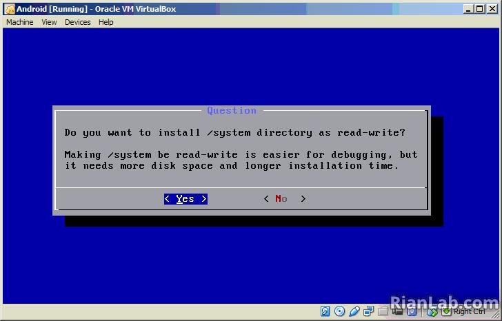 Install GRUB Bootloader