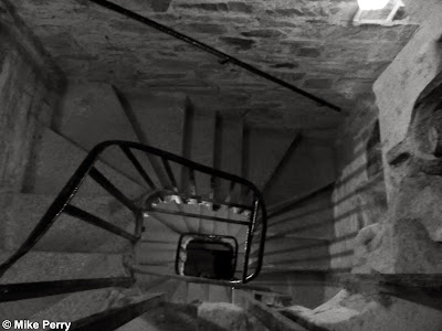Stone steps of Bodmin Jail