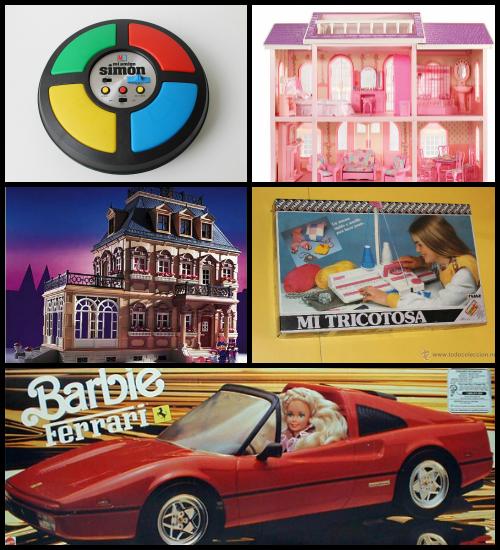 juguetes de mi infancia