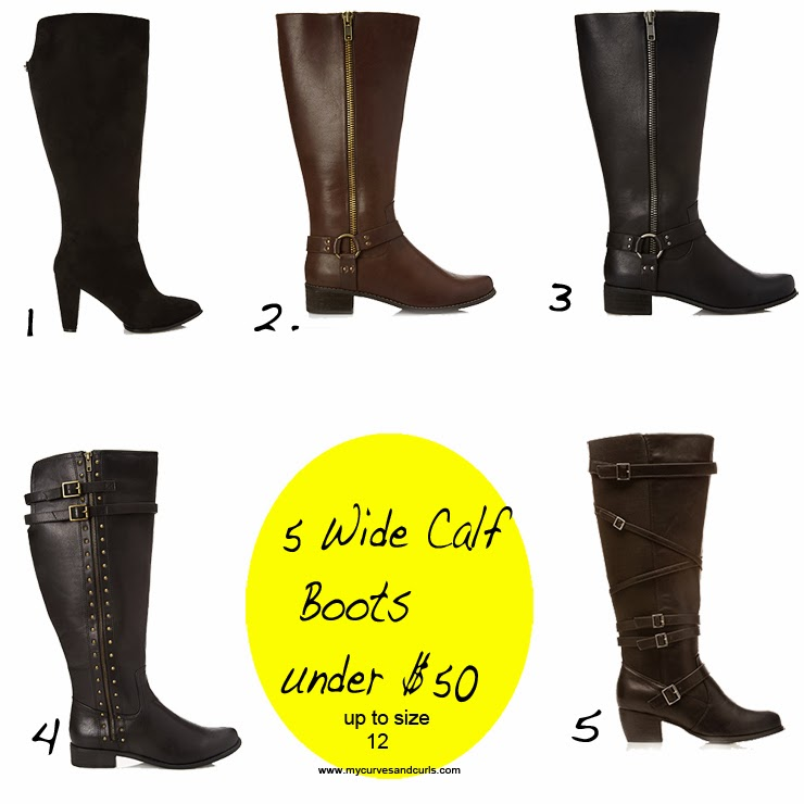 best Wide calf boots for plus size women