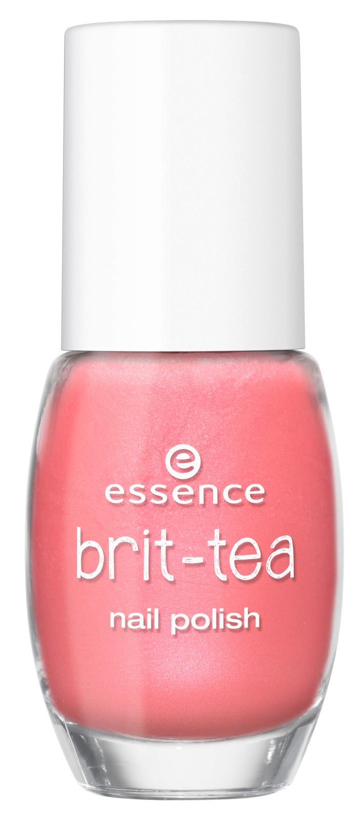 essence brit tea nail polish pink