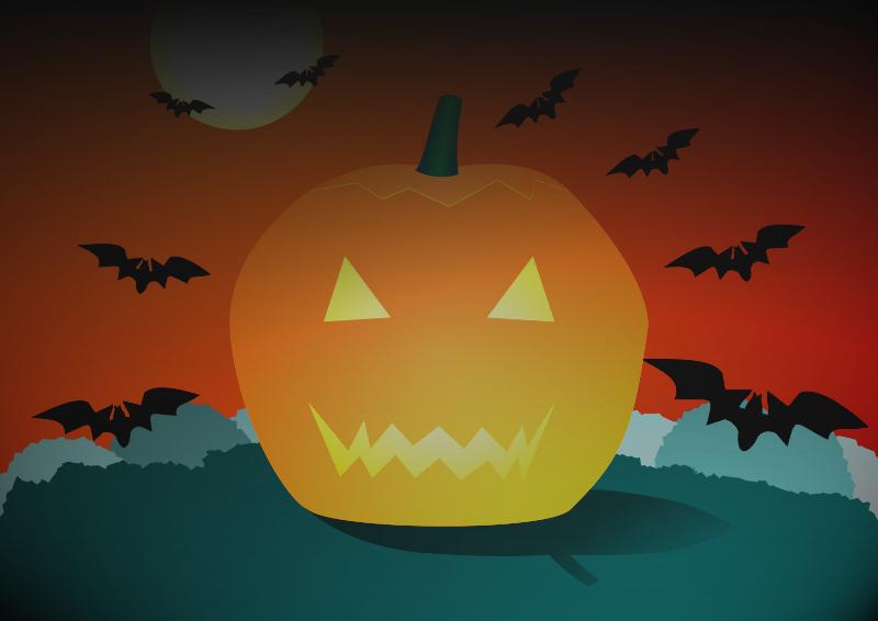Abóbora de Halloween (desenho)